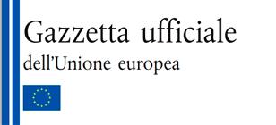collegamento a gazzetta ufficiale unione europea